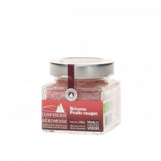 Brisures BIO de Bonbons des Vosges Fruits rouges, 120g