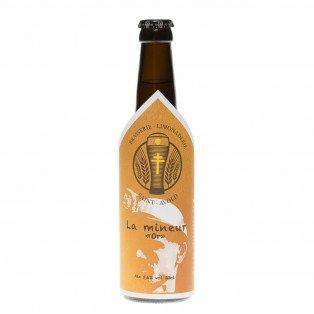 Bière La Mineur d'Or, 33cl 5.6°