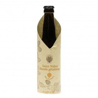 Bière Saint Nabor Blonde généreuse, 33cl 4.35°