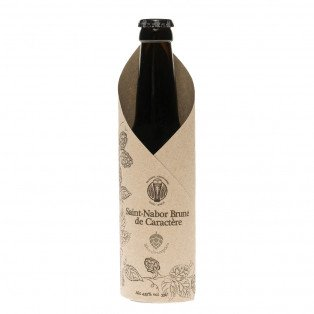 Bière Saint Nabor Brune de caractère, 33cl 4.35°