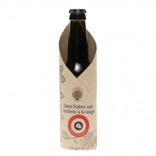 Bière Saint Nabor Ambrée à la Sauge 1916, 33cl 5°