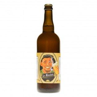 Bière blonde La Mandale, 75cl 6.8°