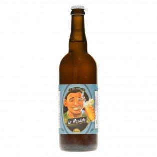 Bière blanche La Mandale, 75cl 6.1°
