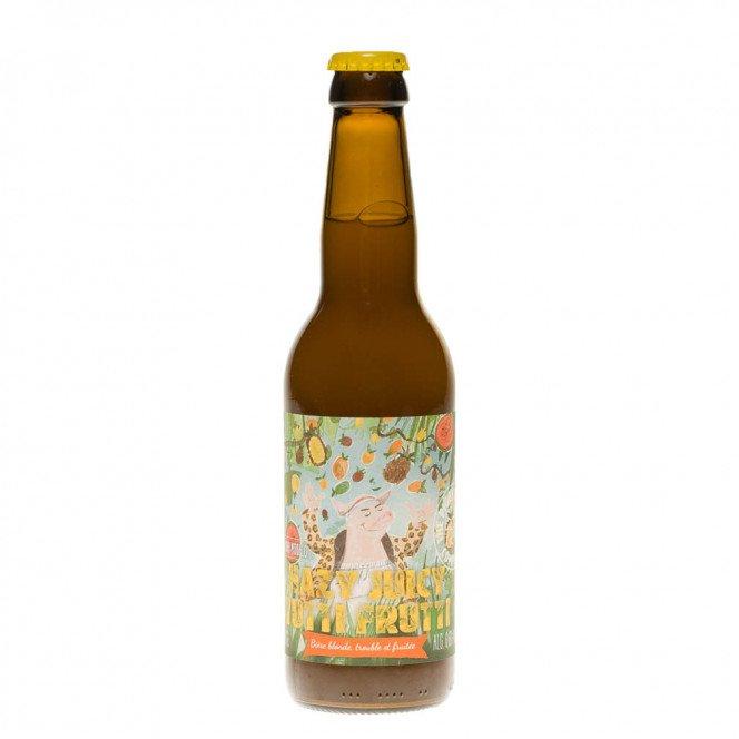 Bière Hazy Juicy Tutti Frutti, 33cl 6.6°