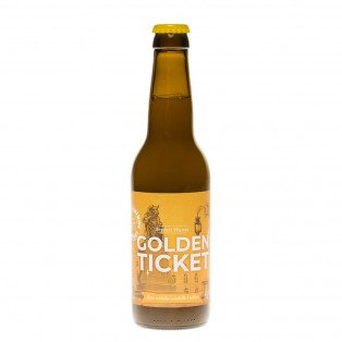 Bière Golden Ticket, 33cl 5°