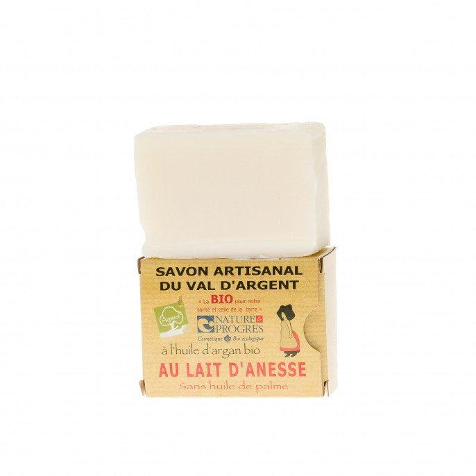 Savon artisanal à l'huile d'argan Bio au lait d'ânesse
