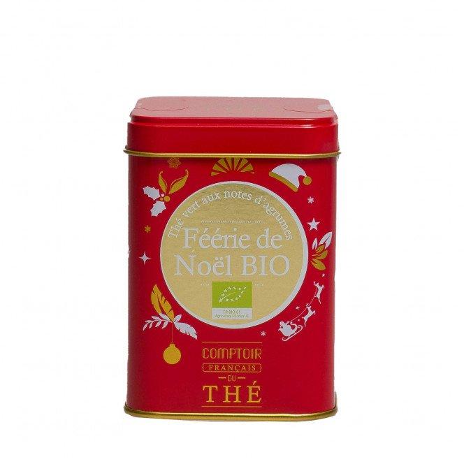 Thé vert Bio Noël aux agrumes