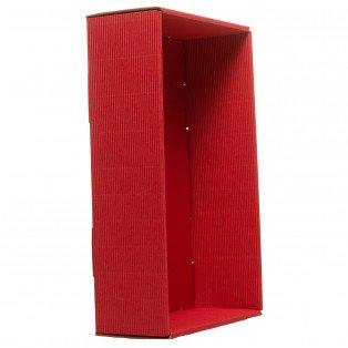 Barquette rouge à garnir 30 X19 X 8 cm