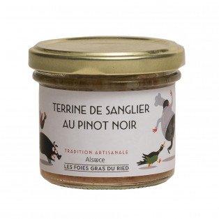 Terrine de sanglier au pinot noir d'Alsace, 90g