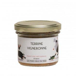 Terrine vigneronne, 90gr