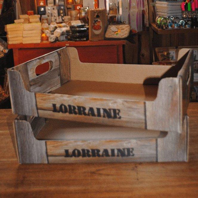 Grande Cagette Lorraine 38.5 X 28.5 X 11 cm