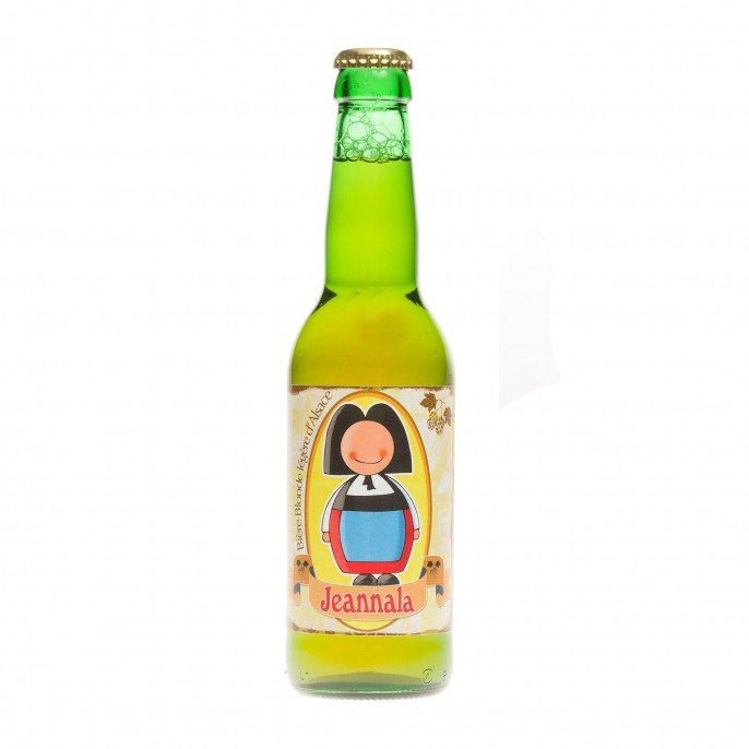 Bière blonde Jeannala, 5° 33cl