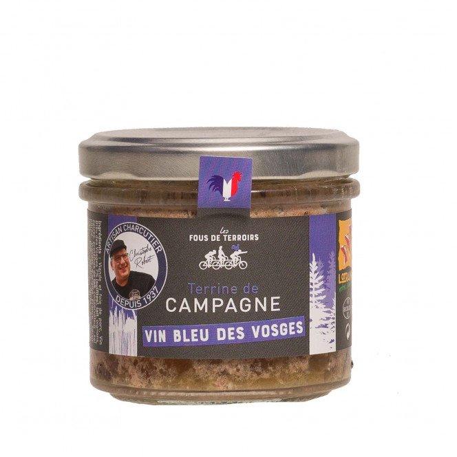 Terrine de campagne au vin bleu des Vosges