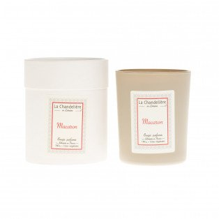 Bougie végétale parfumée macaron