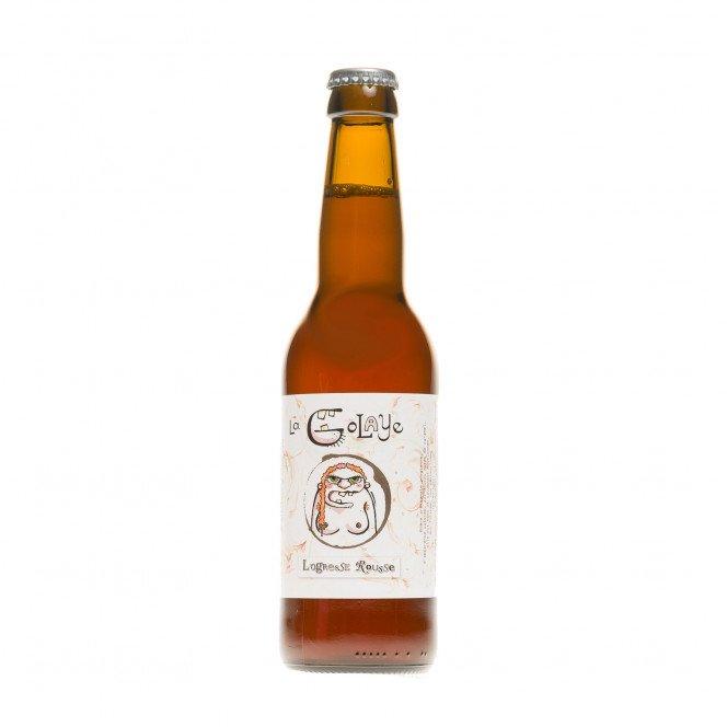 Bière l'Ogresse Rousse, 33cl 6.5°