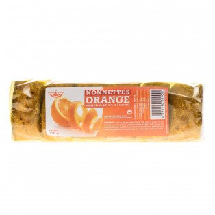 Nonnettes fourrées à l'Orange, 150 gr