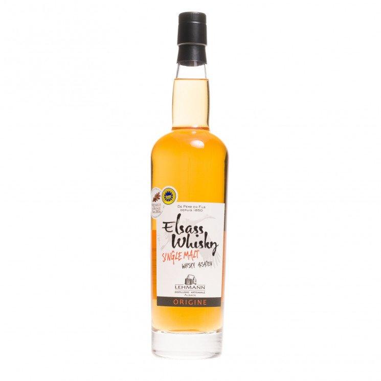 Whisky Alsacien Elsass Origine single malt 40°