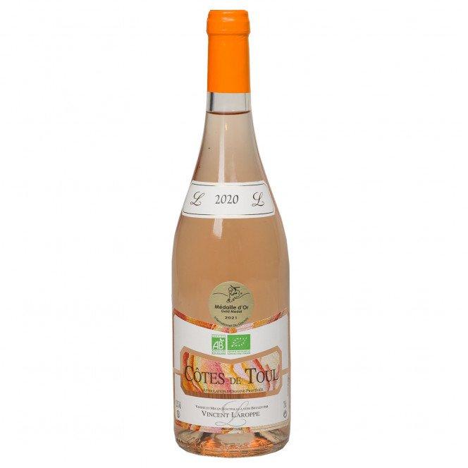 Vin Gris bio tradition Côtes de Toul, 12.5°