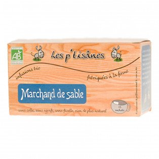 "Infusions bio ""Marchand de sable"""