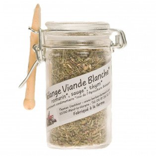 Mélange aromatique bio romarin, sauge, thym