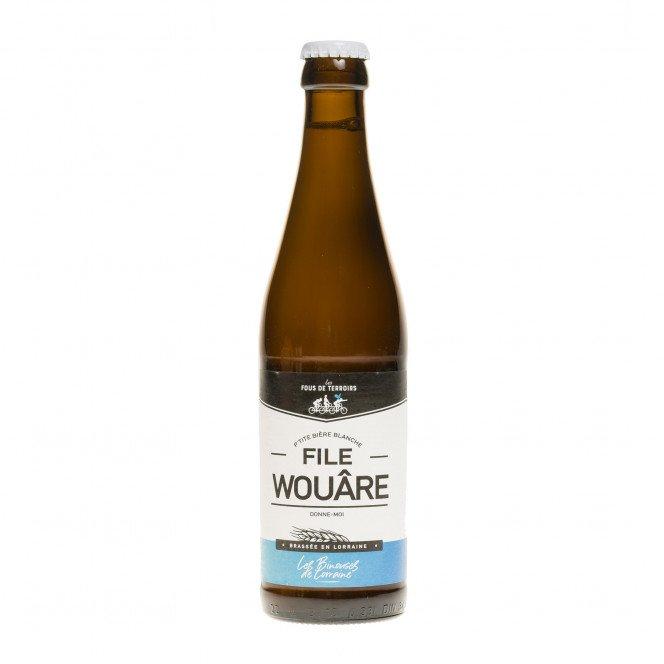 Binouse, bière blanche de Lorraine 4,5°
