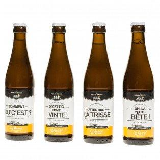 Binouse, bière blonde de Lorraine, 5°