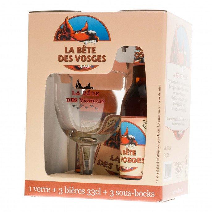 Pack Bête des Vosges, 3 x 33cl, 8°