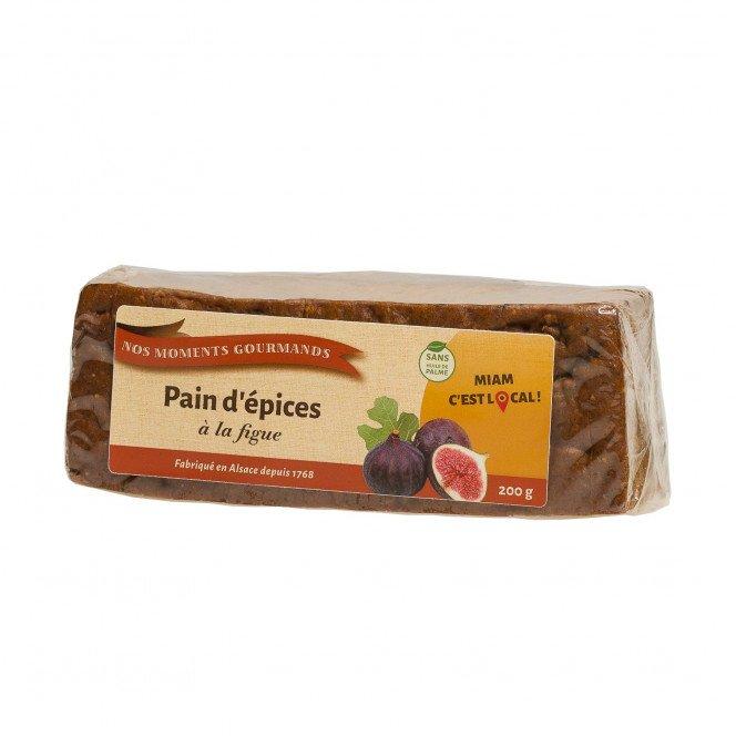 Pain d'épices à la figue