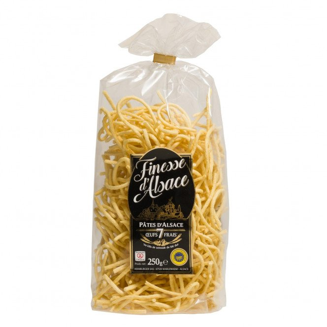 Spaetzle, pâtes d'Alsace IGP