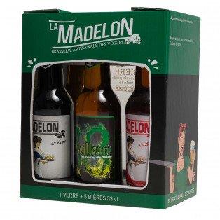 "Coffret bières brasserie artisanale ""La Madelon"""