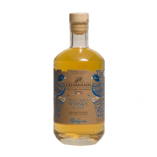 Whisky single malt tourbé
