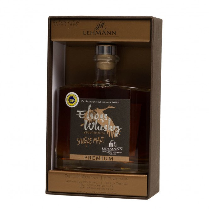 Whisky single malt premium IGP 50°