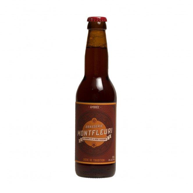 Bière ambrée du Mont-Fleuri 6°