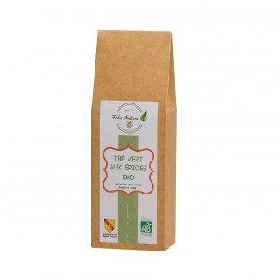 Thé vert bio aux épices