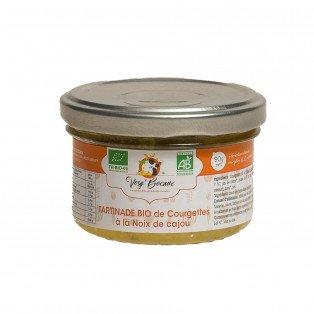 Tartinade de courgettes à la noix de cajou bio