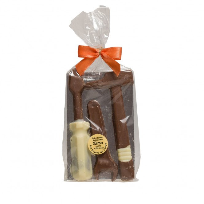 Outils en chocolat