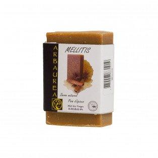 """Savon naturel pain d'épices, miel des Vosges """"MELLITIS"""""""