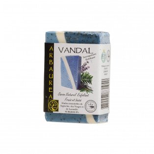 """Savon naturel exfoliant frais et boisé """"VANDAL"""""""