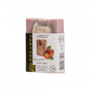 "Savon naturel peaux sensibles fruits rouges ""CYBELE"""