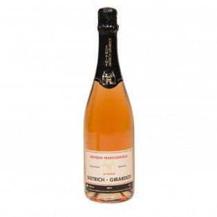 """Méthode traditionnelle brut rosé """"La Vicoise"""" 12.5°"""