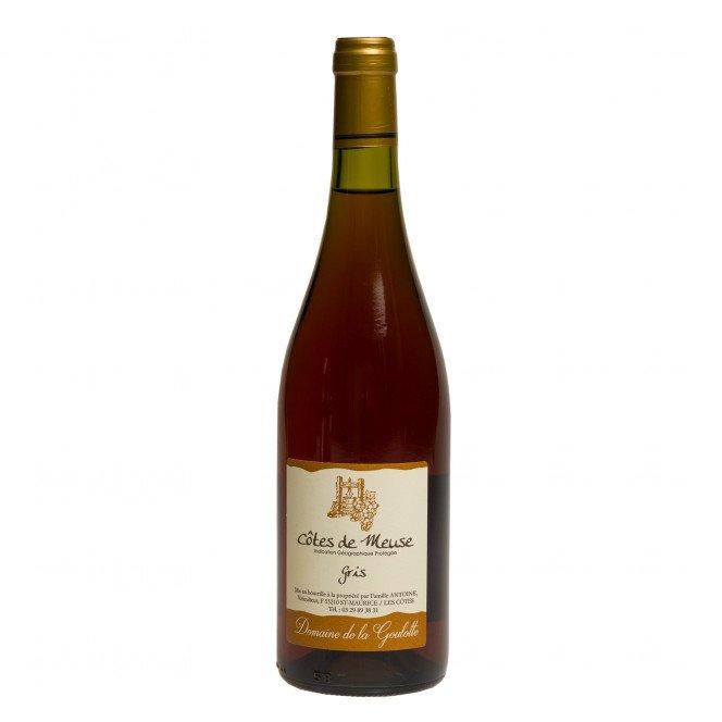 Vin Gris de pays IGP Côtes de Meuse, 75 cl 14°