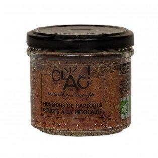 Houmous de haricots rouges à la Mexicaine bio