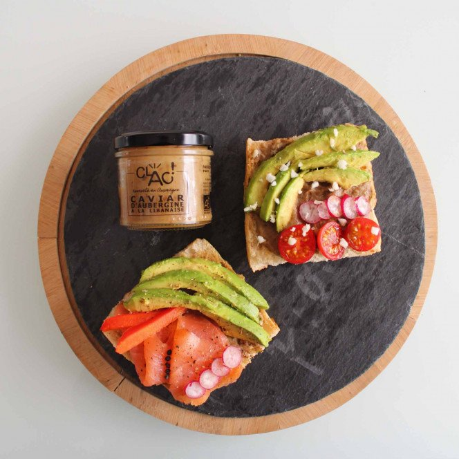 Caviar d'aubergine à la libanaise bio