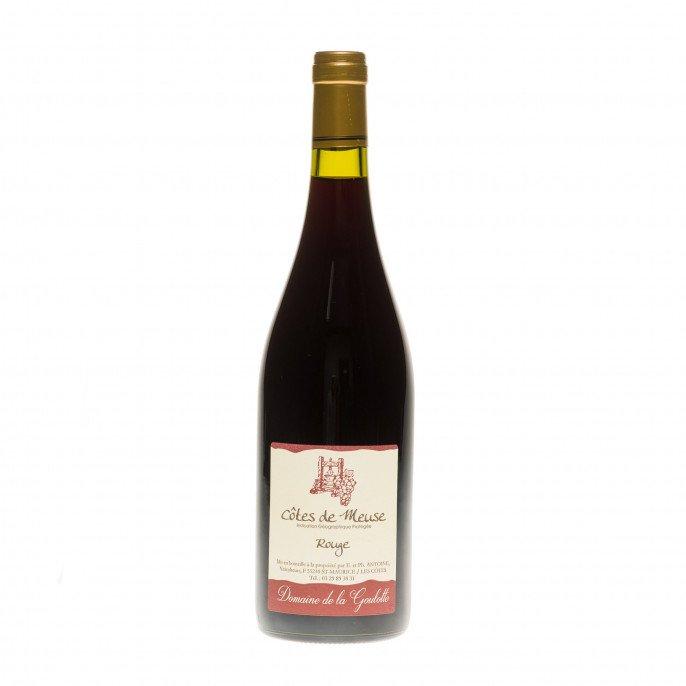 Vin Rouge de Pays des Côtes de Meuse IGP,75 cl 12°