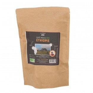 Café moulu bio 100% arabica Ethiopie