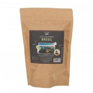 Café en grains 100% arabica brésil
