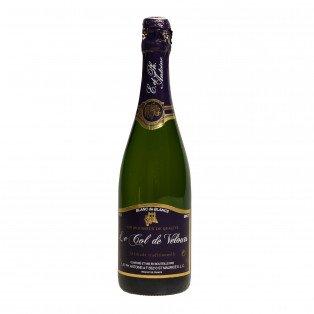 """Vin mousseux méthode traditionnelle """"Col de Velours"""", 75cl 13°"""