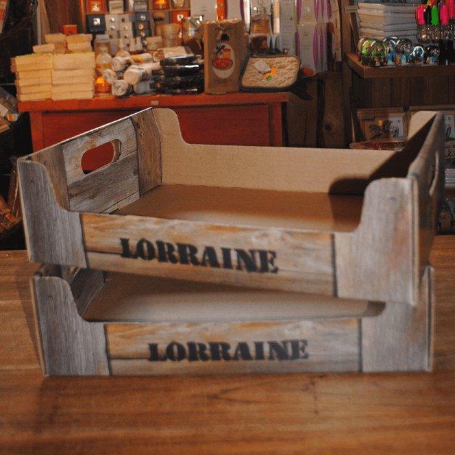 Petite Cagette Lorraine 28 X 18.5 X 5.9 cm