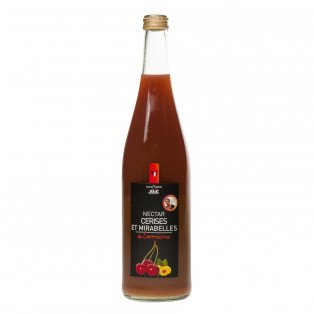 Nectar de cerises et mirabelles de lorraine