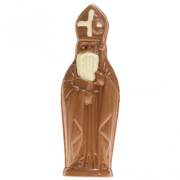 Saint Nicolas au chocolat au lait
